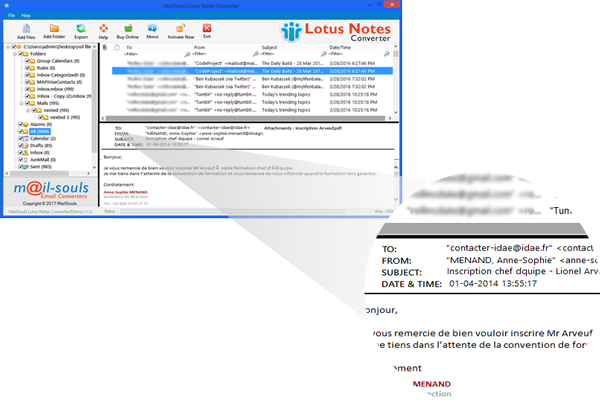How to Export Lotus Notes NSF Files with Lotus Notes NSF Converter