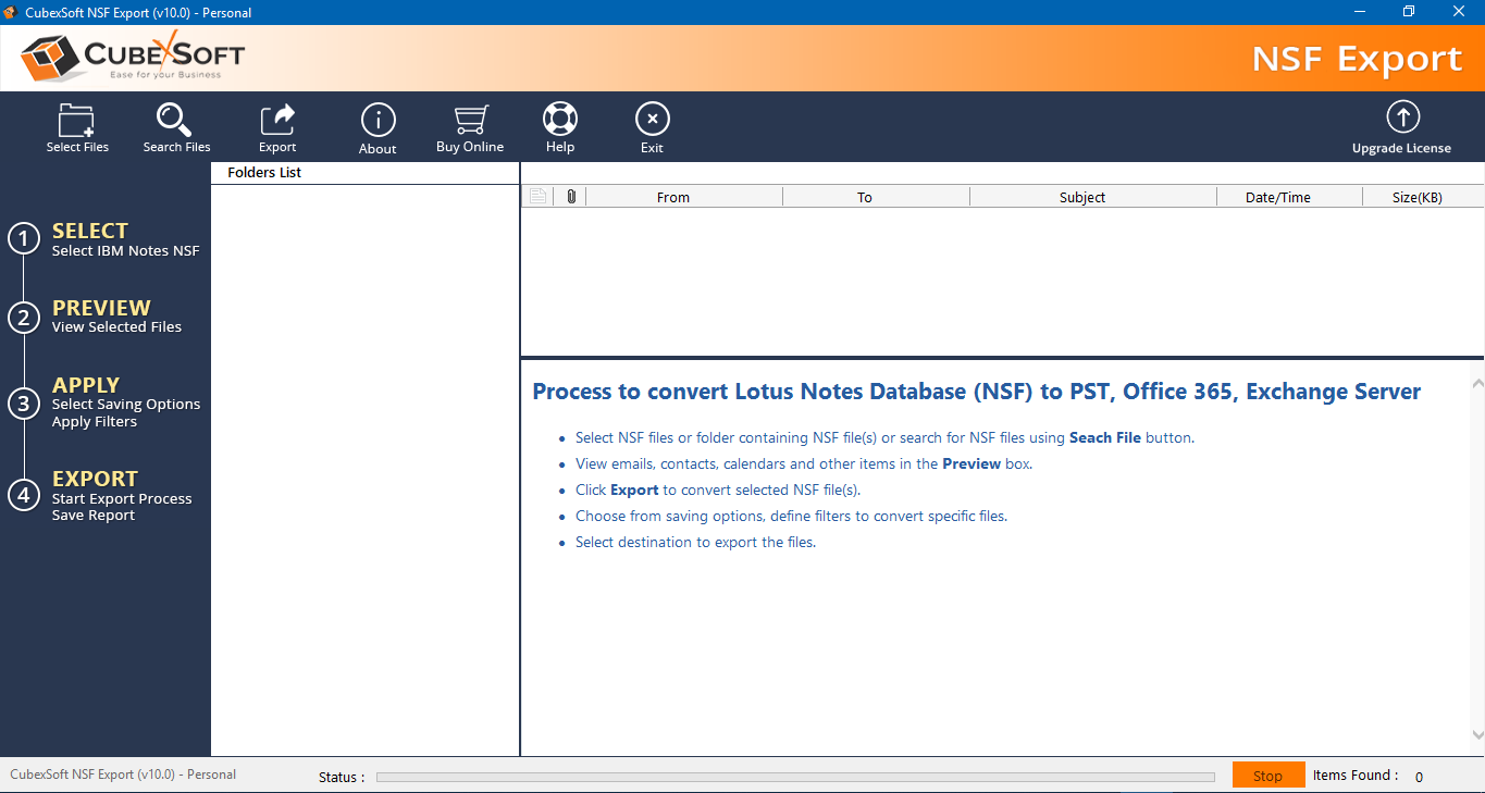 MailSouls Lotus Notes to Outlook Tool