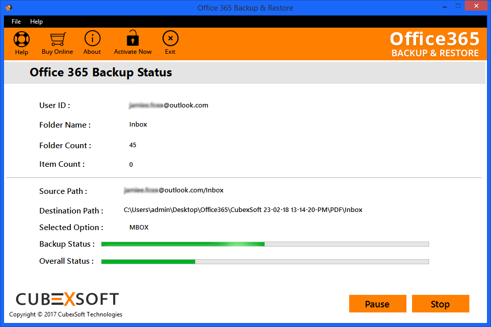 MailSouls Office 365 to MBOX Software